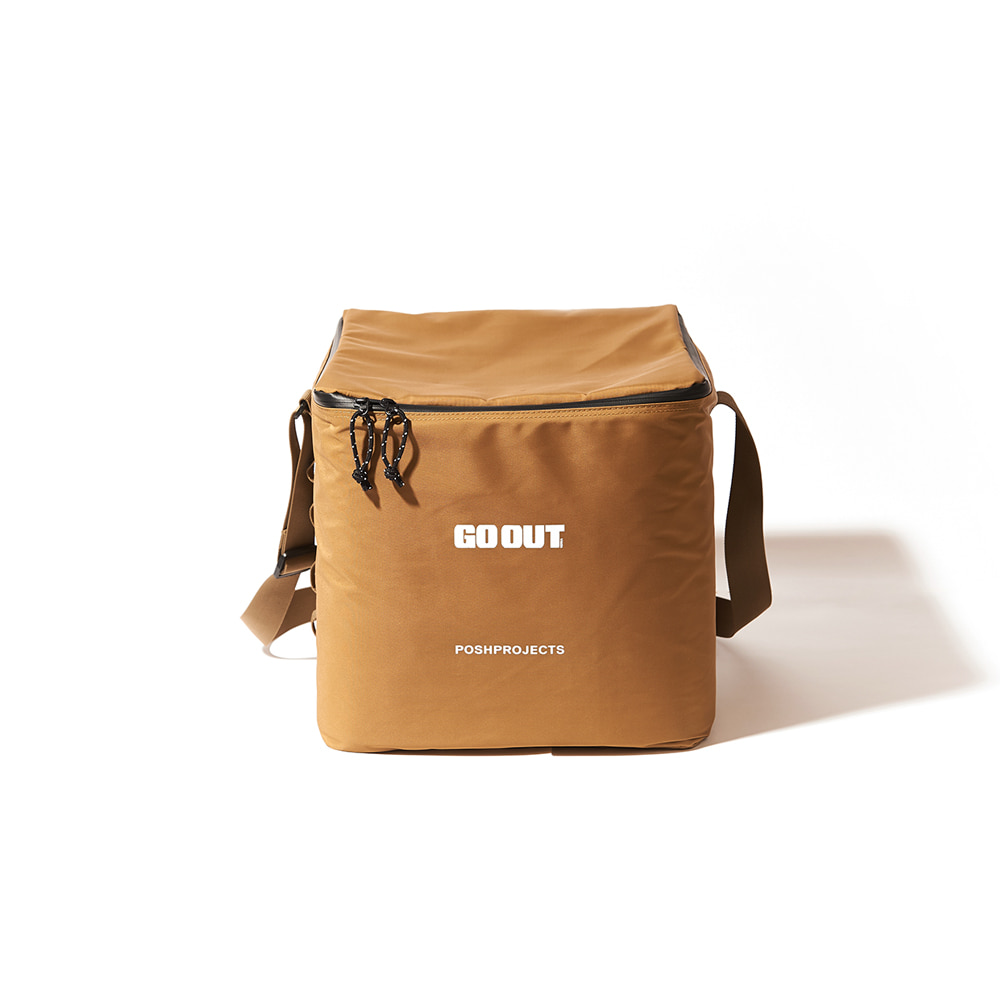 [GO OUT x POSHPROJECTS] Vinyl Soft Cooler SMALL