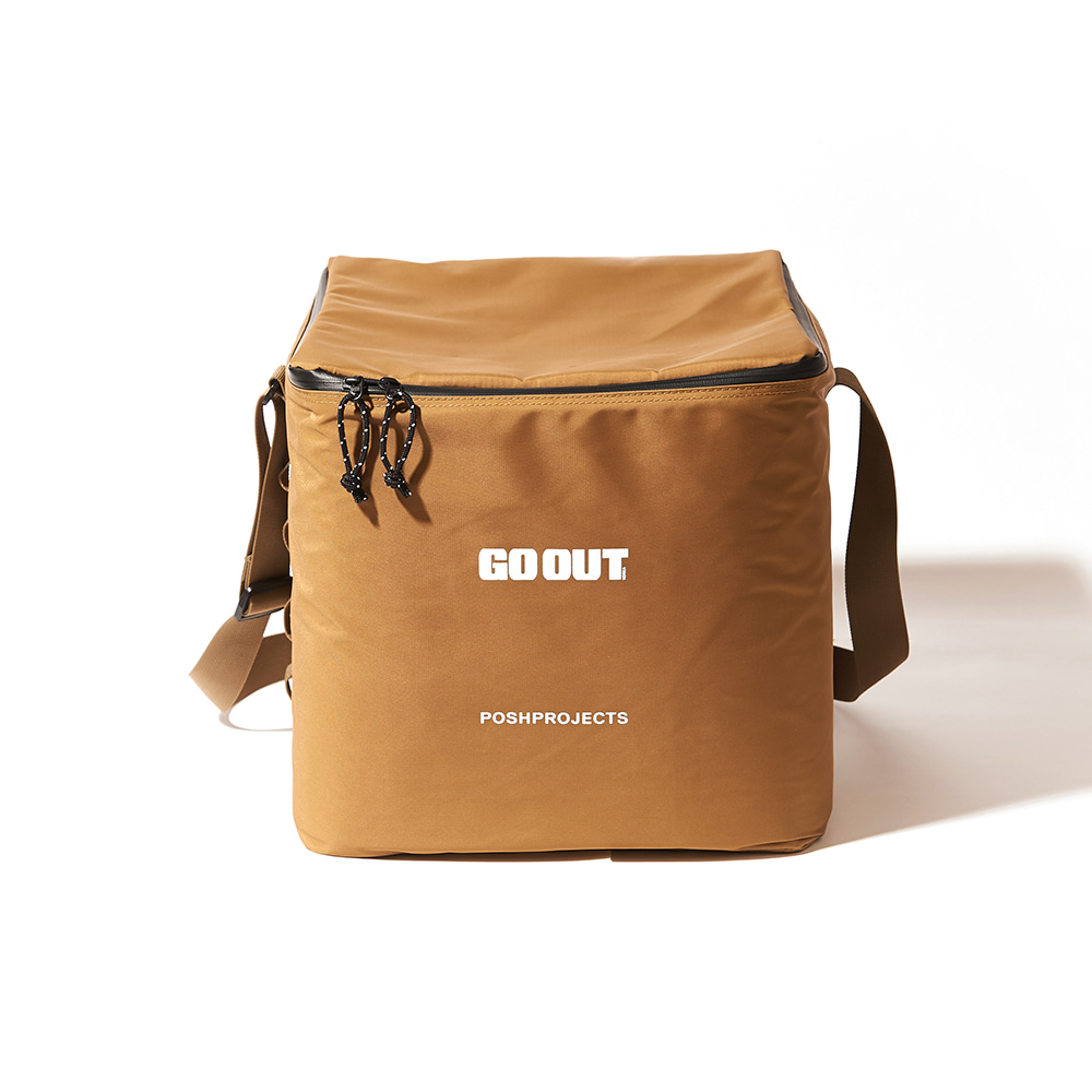 [GO OUT x POSHPROJECTS] Vinyl Soft Cooler LARGE